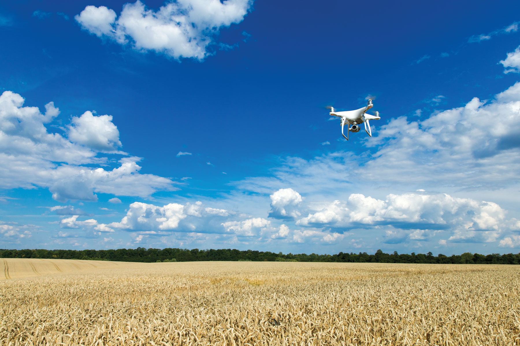 How drones are helping farmers power our region
