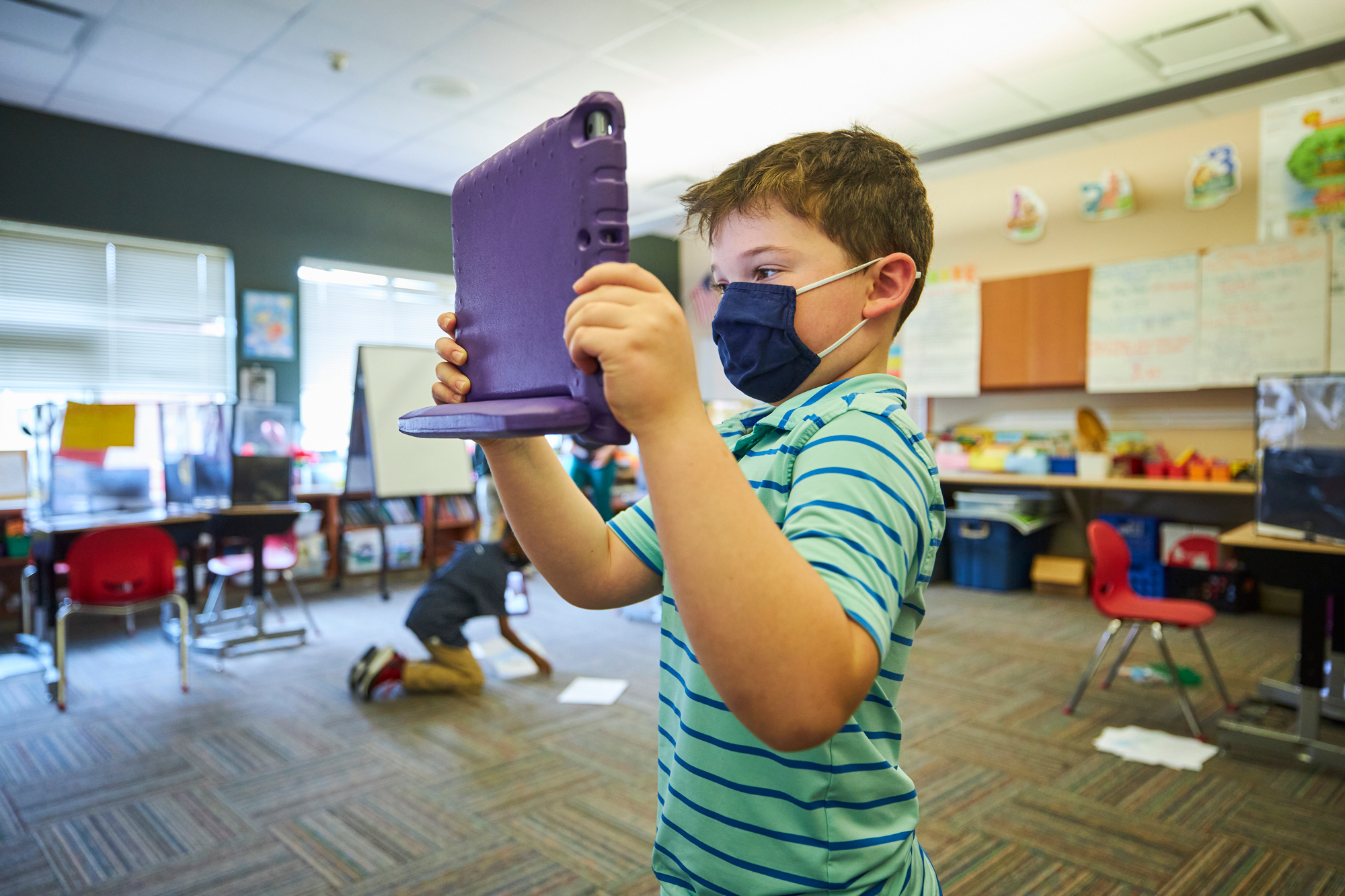 Schools pivot in face of pandemic, find partners to connect students to internet
