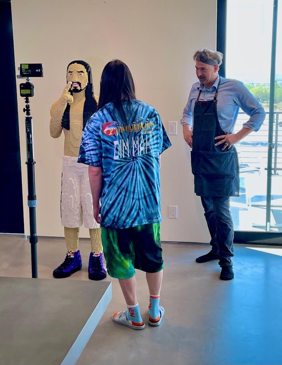 Q&A with Lego sculptor, ISU alum Chris Ihle